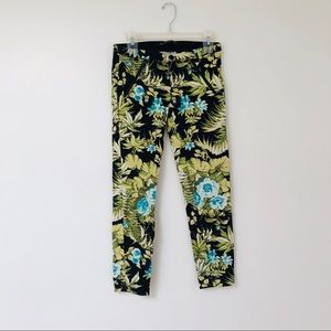 Zara trafaluc tropical pants